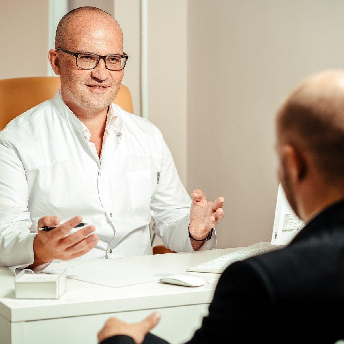 Doctor Patient Consultation Discussion Psychiatrist
